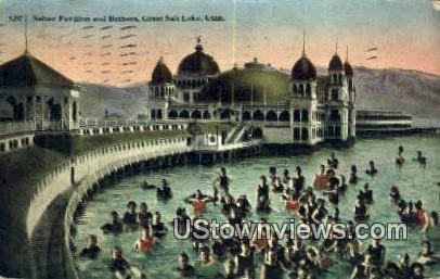 Saltair Pavilion - Salt Lake City, Utah UT Postcard