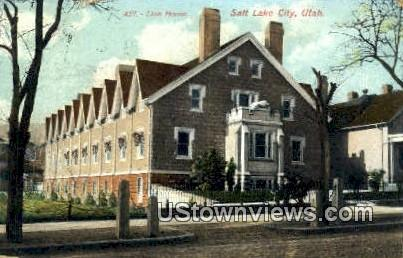 Lion House - Salt Lake City, Utah UT Postcard