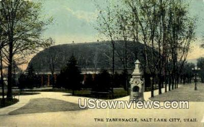 The Tabernacle - Salt Lake City, Utah UT Postcard