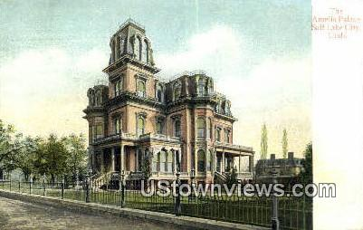 Amelia Palace - Salt Lake City, Utah UT Postcard