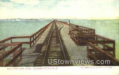 Southern Pacific RR - Salt Lake City, Utah UT Postcard