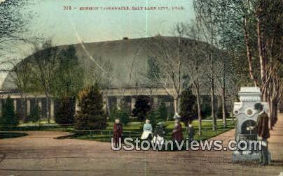 Mormon Tabernacle - Salt Lake City, Utah UT Postcard