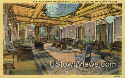 Utah State Capitol - Salt Lake City Postcard
