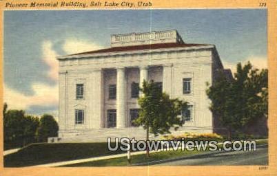 Pioneer Memorial Bldg - Salt Lake City, Utah UT Postcard
