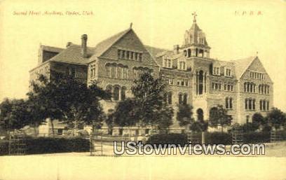 Sacred Heart Academy - Ogden, Utah UT Postcard