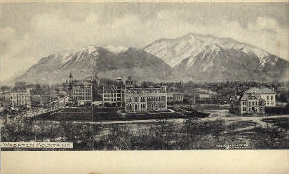 Wasatch Mountains - Utah UT Postcard