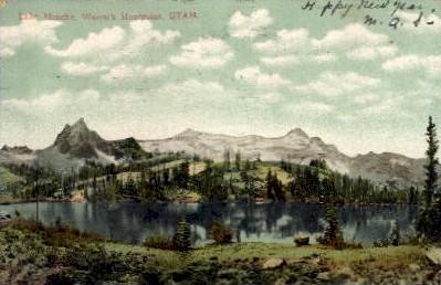 Lake Blanche - Wasatch Mountains, Utah UT Postcard