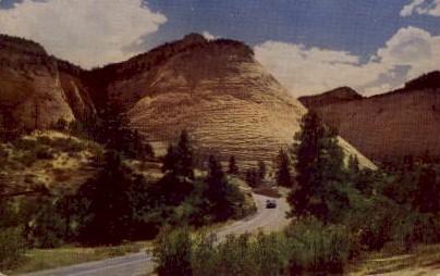 Zion National Park - Utah UT Postcard