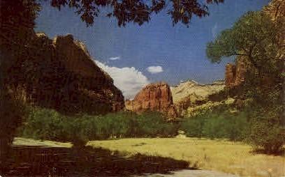 Angel's Landing - Zion National Park, Utah UT Postcard