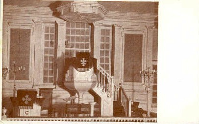 Chancel in Christ Church - Alexandria, Virginia VA Postcard