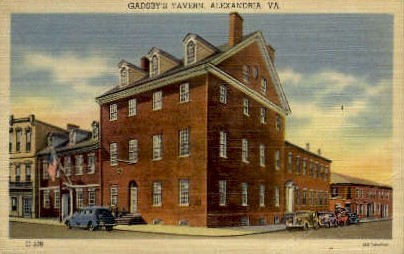 Gadsby's Tavern - Alexandria, Virginia VA Postcard