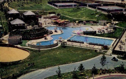 Watergate - Alexandria, Virginia VA Postcard