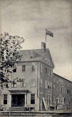 The Old Marshall House - Alexandria, Virginia VA Postcard