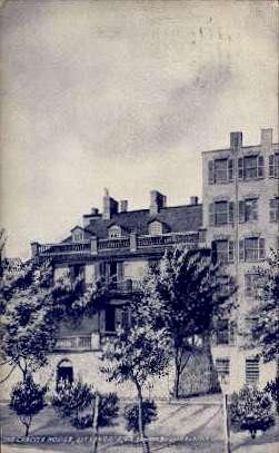 The Carlyle House - Alexandria, Virginia VA Postcard