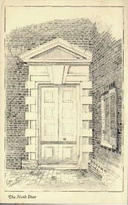 The North Door - Alexandria, Virginia VA Postcard