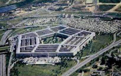 The Pentagon - Arlington, Virginia VA Postcard