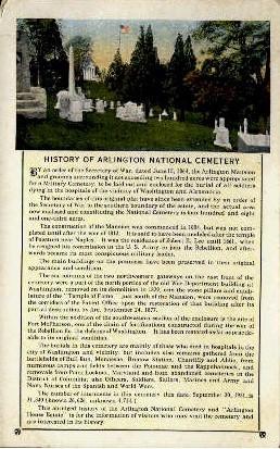 Arlington National Cemetry - Virginia VA Postcard