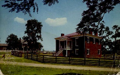 Clover Hill Tavern & Guest House - Appomattox, Virginia VA Postcard
