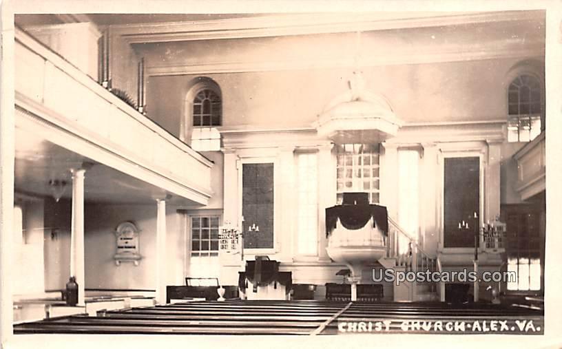 Christ Church - Alex, Virginia VA Postcard