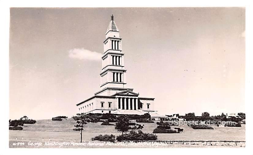 George Washington Masonic National Memorial - Alexandria, Virginia VA Postcard