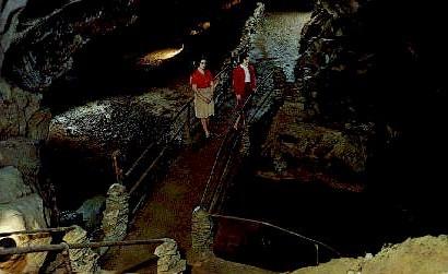 Bristol Caverns - Virginia VA Postcard