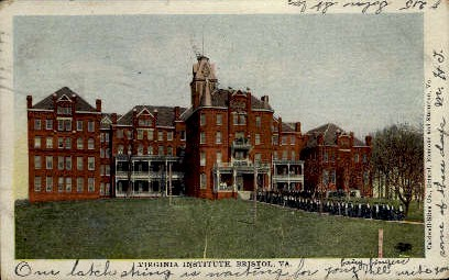 Virginia Institute - Bristol Postcard