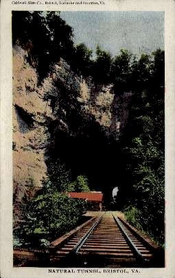 Natural Tunnel - Bristol, Virginia VA Postcard