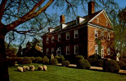 Historic Berkeley Plantation - Williamsburg, Virginia VA Postcard