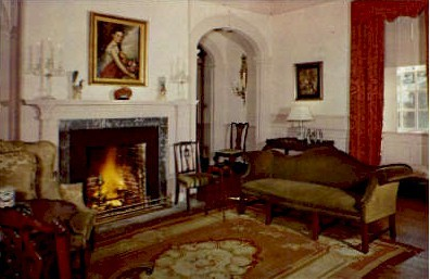 Great Room, Berkeley Plantation - Williamsburg, Virginia VA Postcard