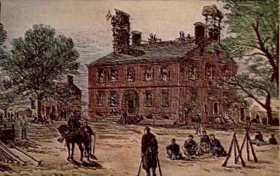 Berkeley Plantation House - Richmond, Virginia VA Postcard