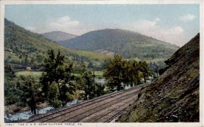 The C. and O.  - Clifton Forge, Virginia VA Postcard