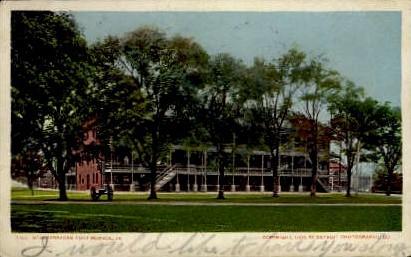 New Barracks - Fort Monroe, Virginia VA Postcard