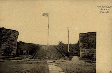 Fort Monroe, Virginia Postcard