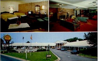 Quality Inn Governor - Falls Church, Virginia VA Postcard