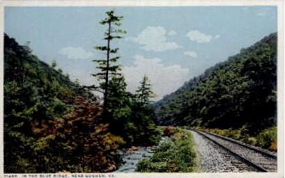 In the Blue Ridge - Goshen, Virginia VA Postcard