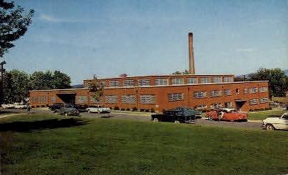 Student Center, Eastern Mennonite College - Harrisonburg, Virginia VA Postcard