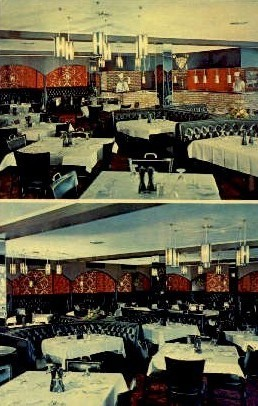 Belle Meade Motel and Restaurant - Harrisonburg, Virginia VA Postcard