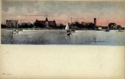 The Hampton Normal Institute - Virginia VA Postcard