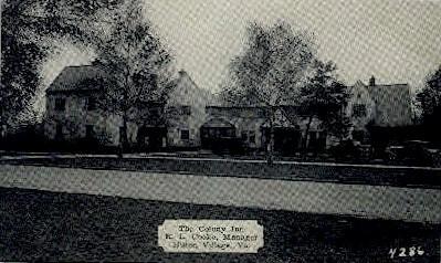 The Colony Inn - Hilton Village, Virginia VA Postcard