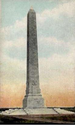 U. S. Government Monument - Jamestown, Virginia VA Postcard