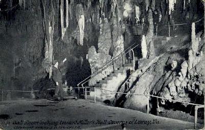 Caverns of Luray - Virginia VA Postcard