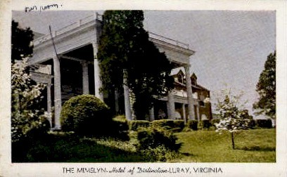 The Mimslyn - Luray, Virginia VA Postcard