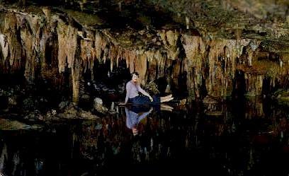 Reflections In A Dream Lake - Luray, Virginia VA Postcard