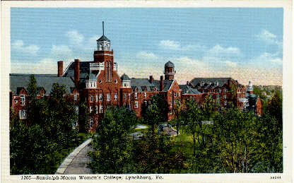 Randolph-Macon Womans College - Lynchburg, Virginia VA Postcard