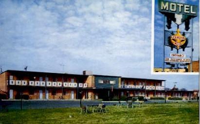 Lexington Motel - Virginia VA Postcard