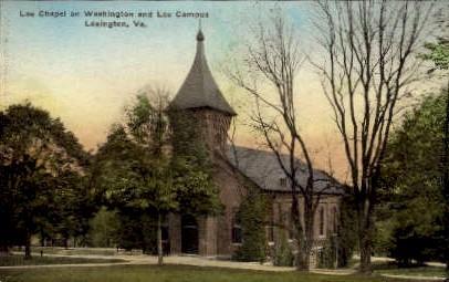 Lee Chapel - Lexington, Virginia VA Postcard