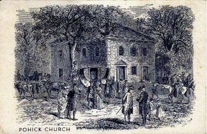 Pohick Church - Luray, Virginia VA Postcard