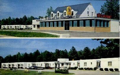 Bowie's Motel  - Lorne, Virginia VA Postcard