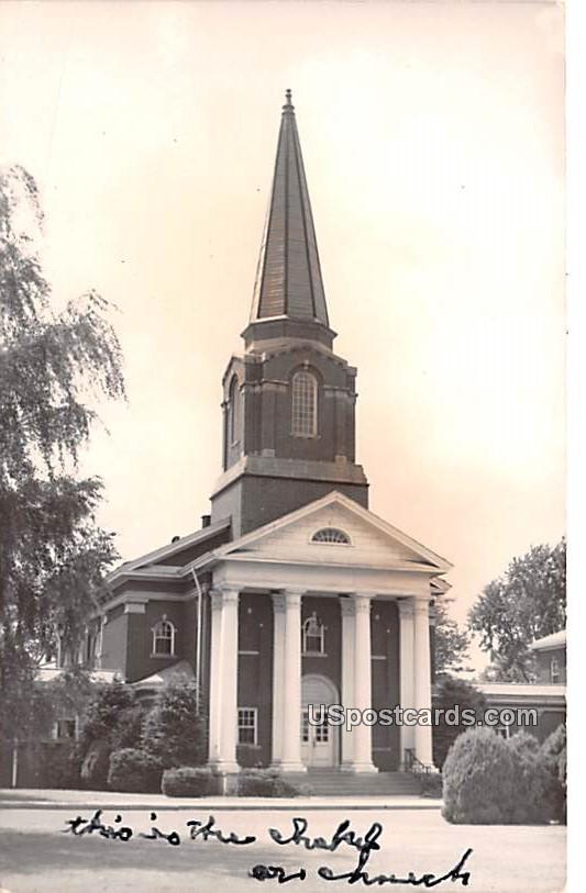 College Chapel - Lexington, Virginia VA Postcard