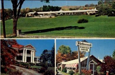 Virginia House - Marion Postcard
